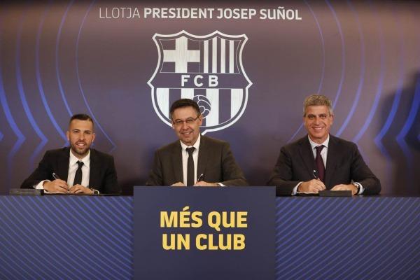 رسميا: برشلونة يحصن نجمه بنصف مليار يورو Koo_114405