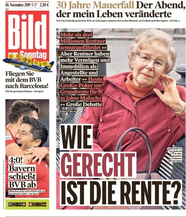 رباعية بايرن ميونخ تغزو صحف ألمانيا Affbild