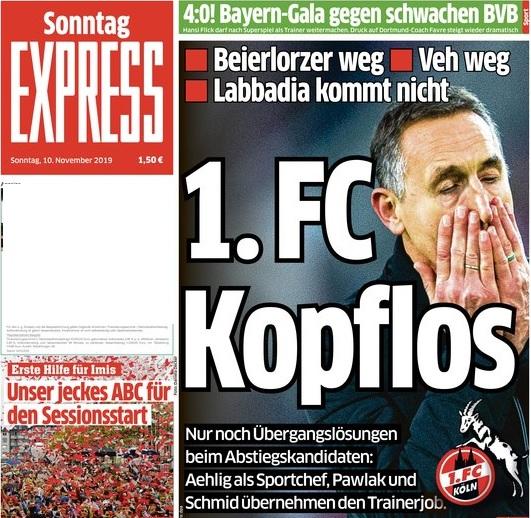 رباعية بايرن ميونخ تغزو صحف ألمانيا Affexpress