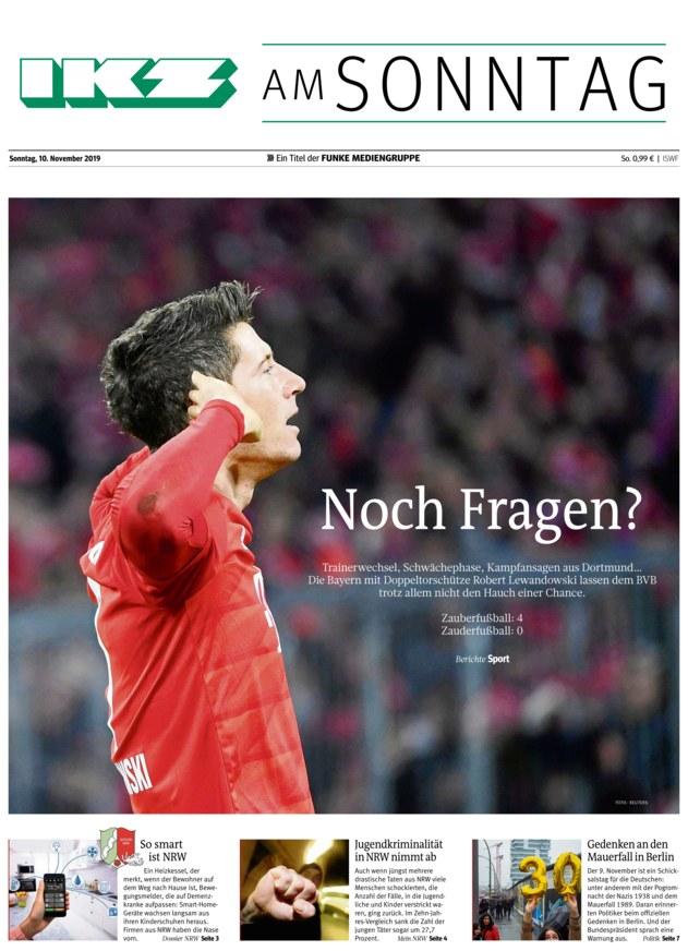 رباعية بايرن ميونخ تغزو صحف ألمانيا Affikz