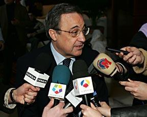 فلورنتينو بيريز «مواجهة» الرياضية الليلة